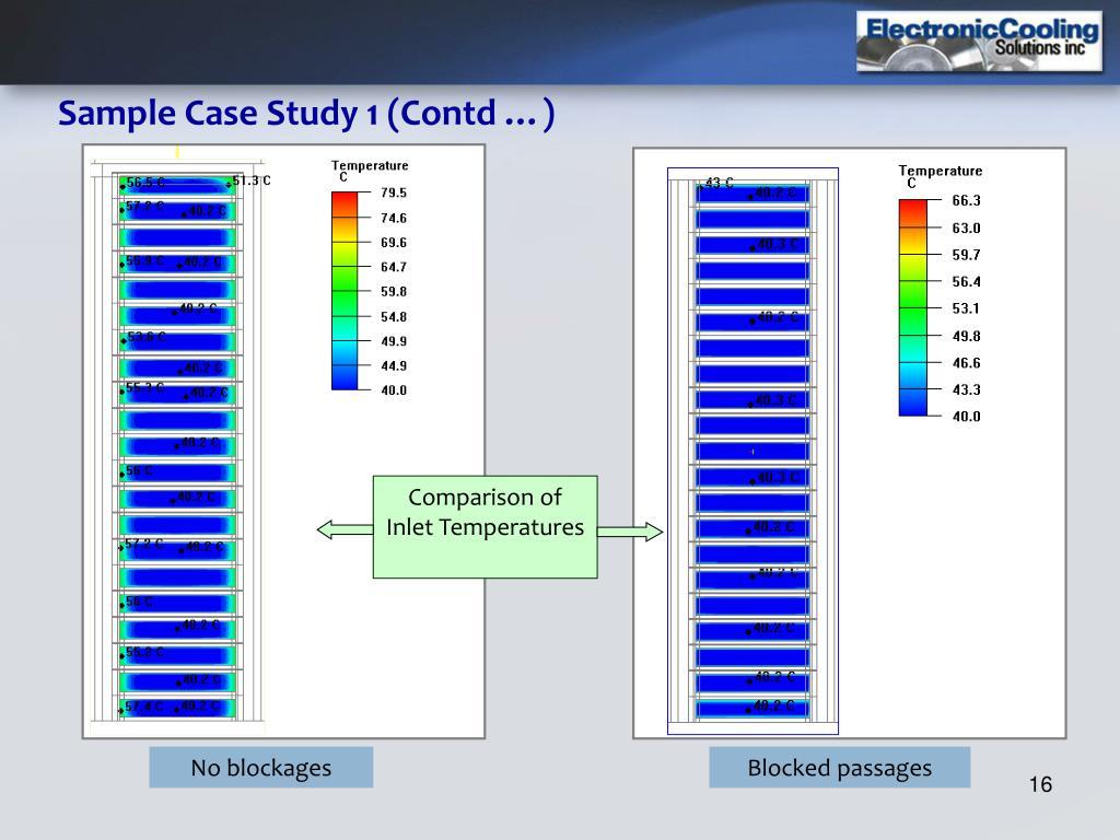 Comparison of Inlet Temperatures