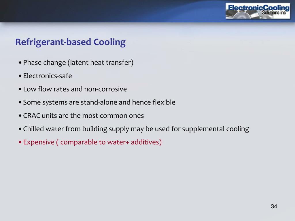 Refrigerant-based Cooling
