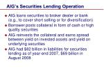 aig s securities lending operation