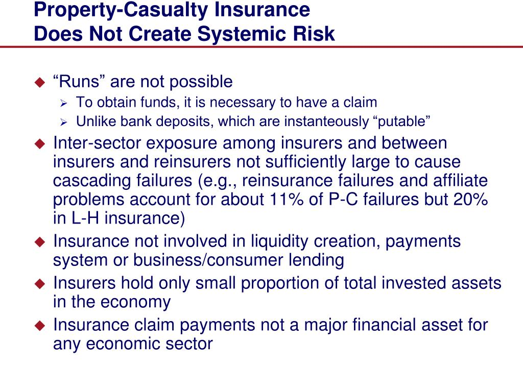 Property-Casualty Insurance
