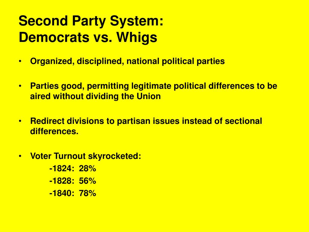Second Party System: