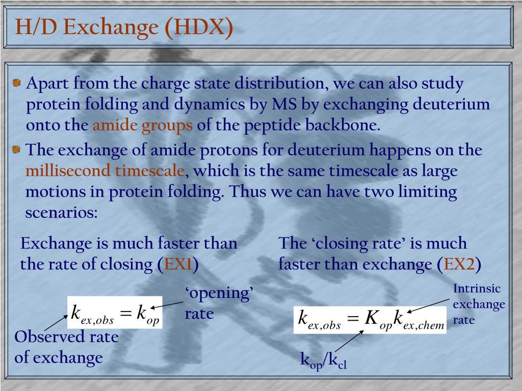 H/D Exchange (HDX)