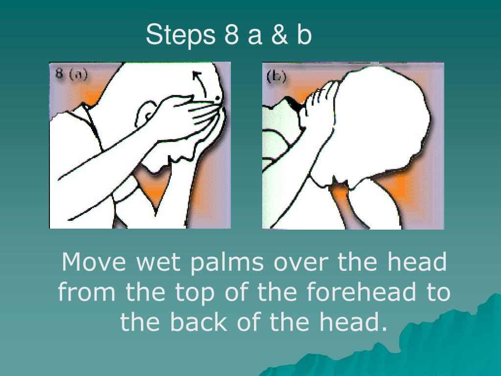 Steps 8 a & b