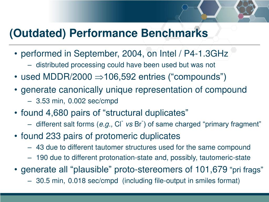 (Outdated) Performance Benchmarks