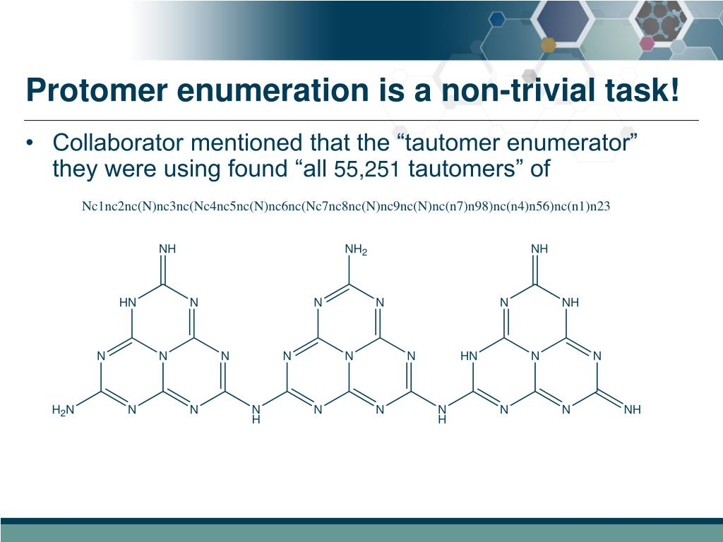 Protomer enumeration is a non-trivial task!