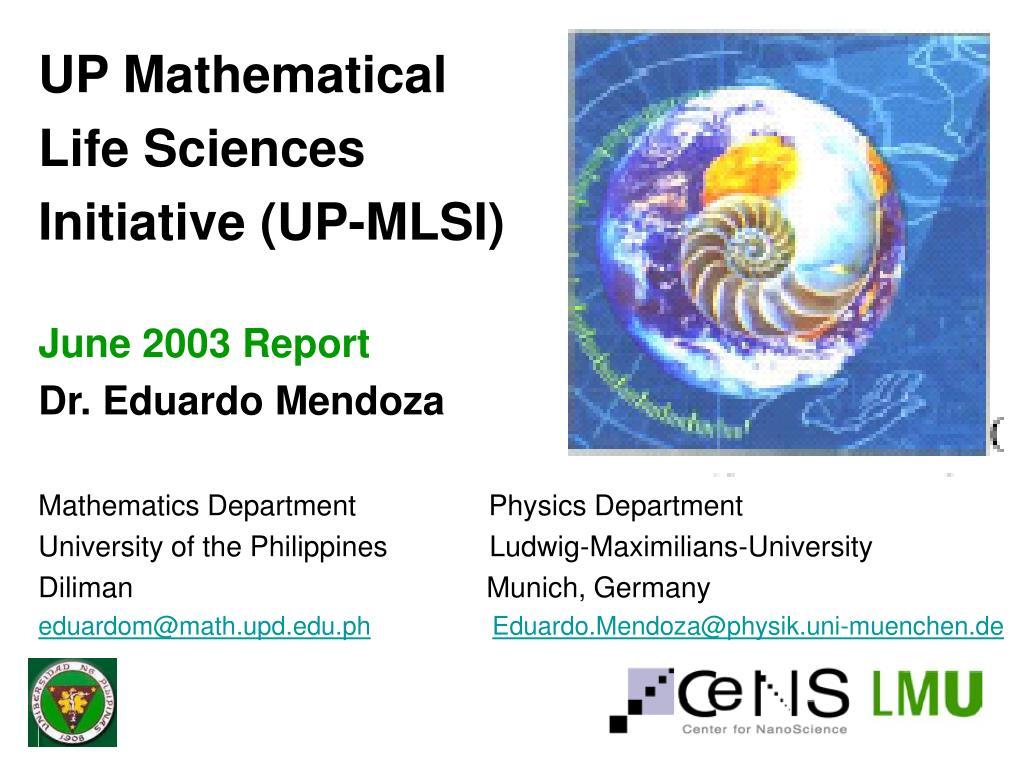 UP Mathematical