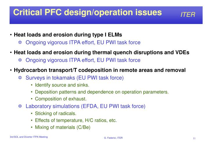 Critical PFC design/operation issues