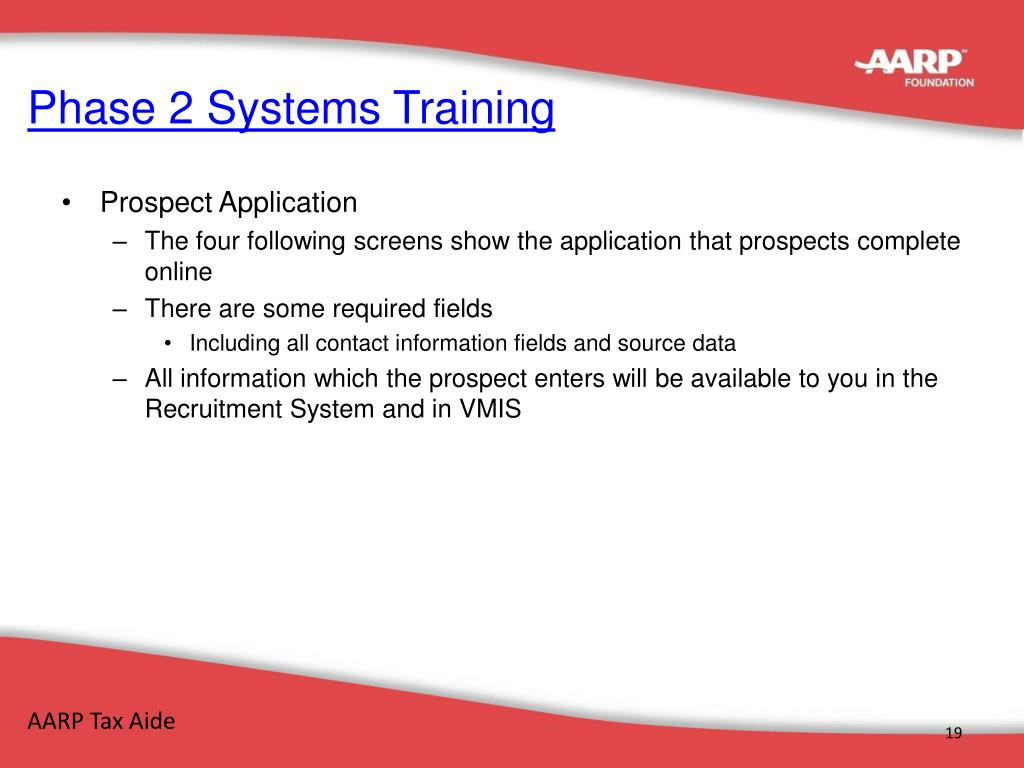 Phase 2 Systems Training