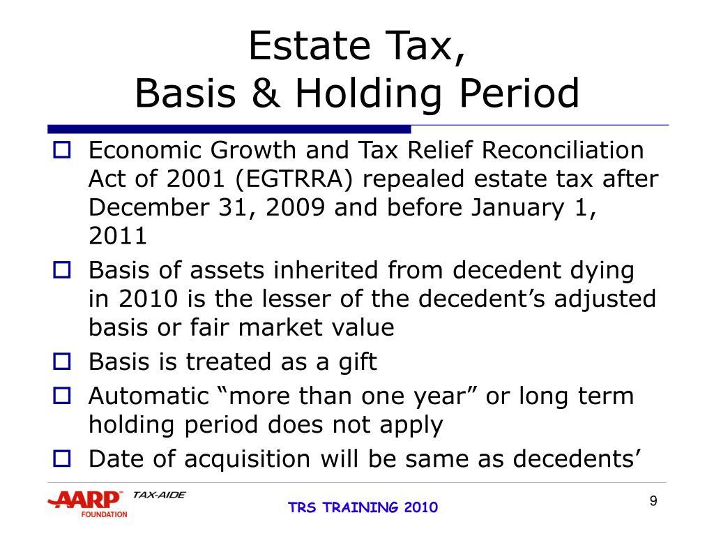 Estate Tax,