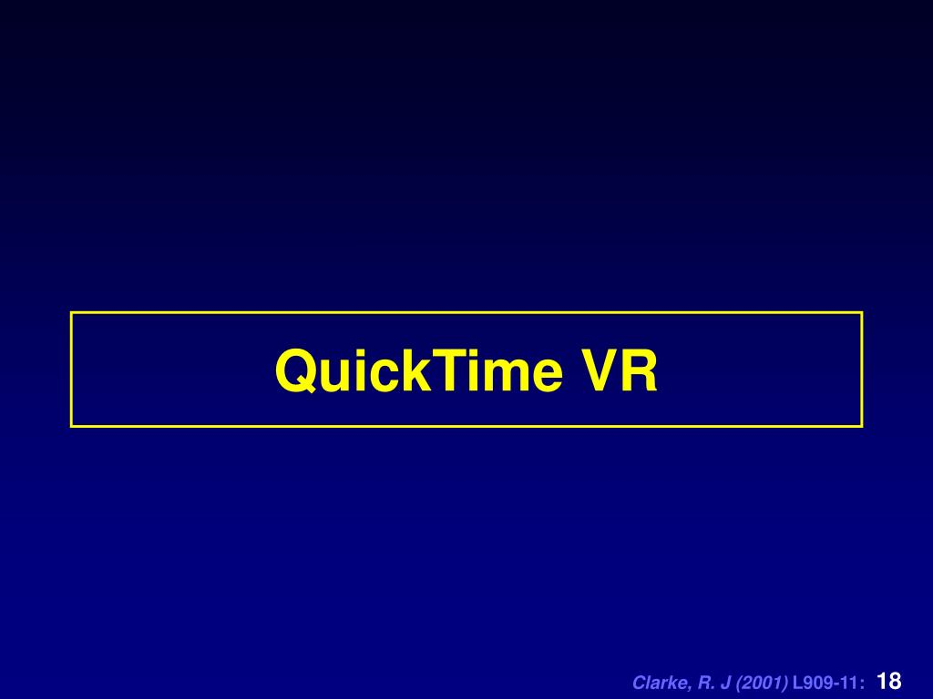 QuickTime VR