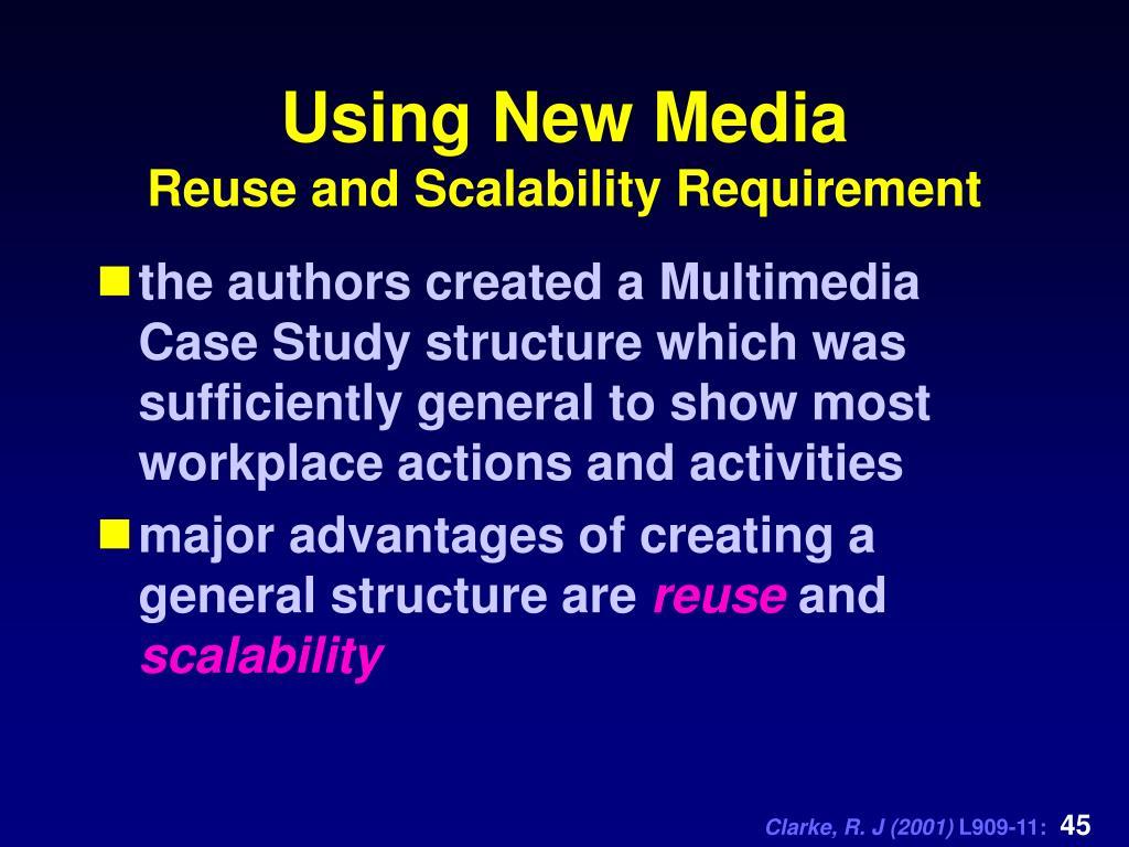 Using New Media