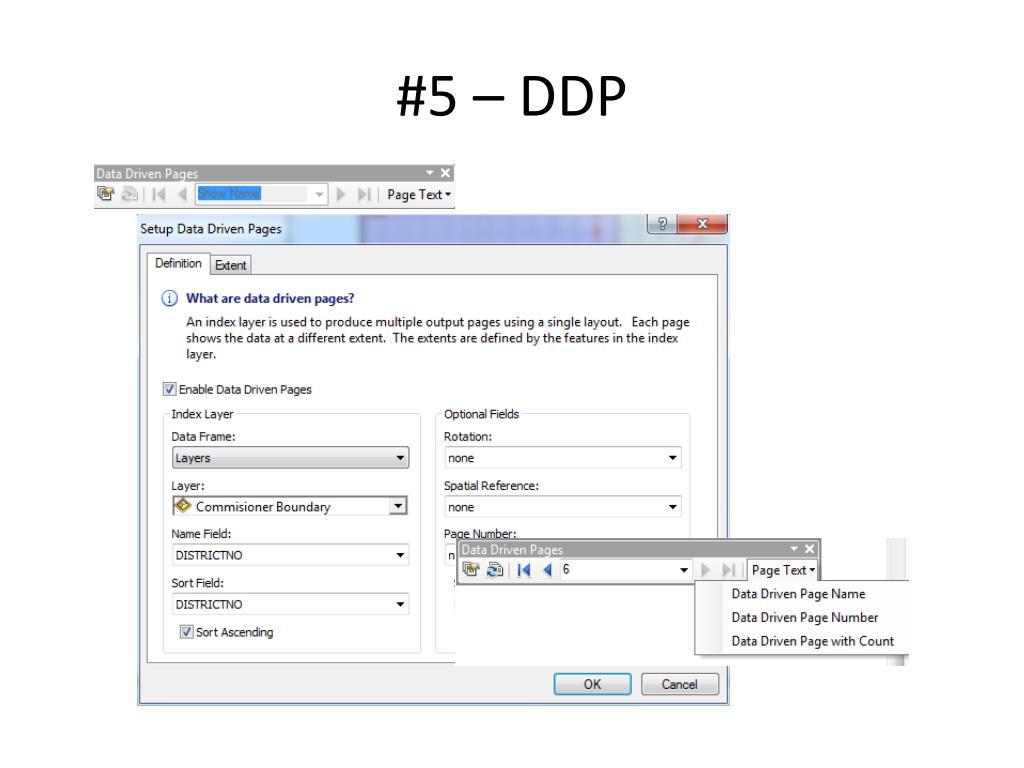#5 – DDP