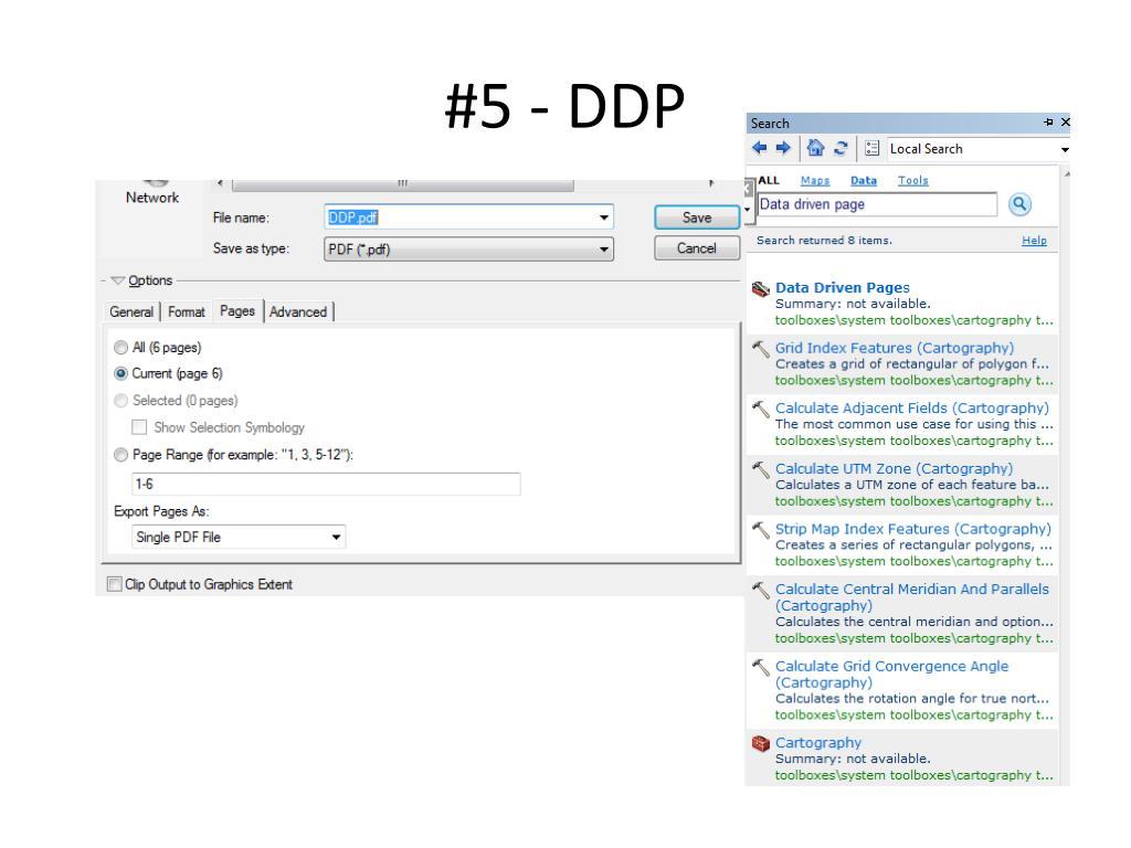 #5 - DDP