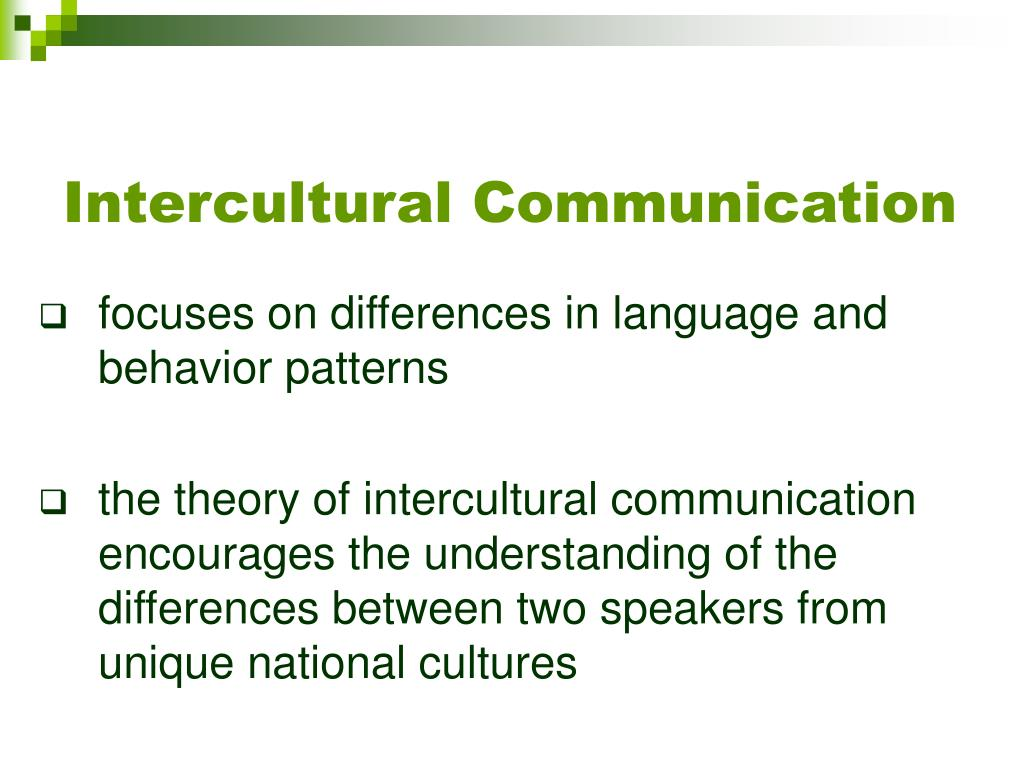 intercultural communication Welcome to the program of business and intercultural communication which  conducts research and offers instruction in the field of human communication  within.