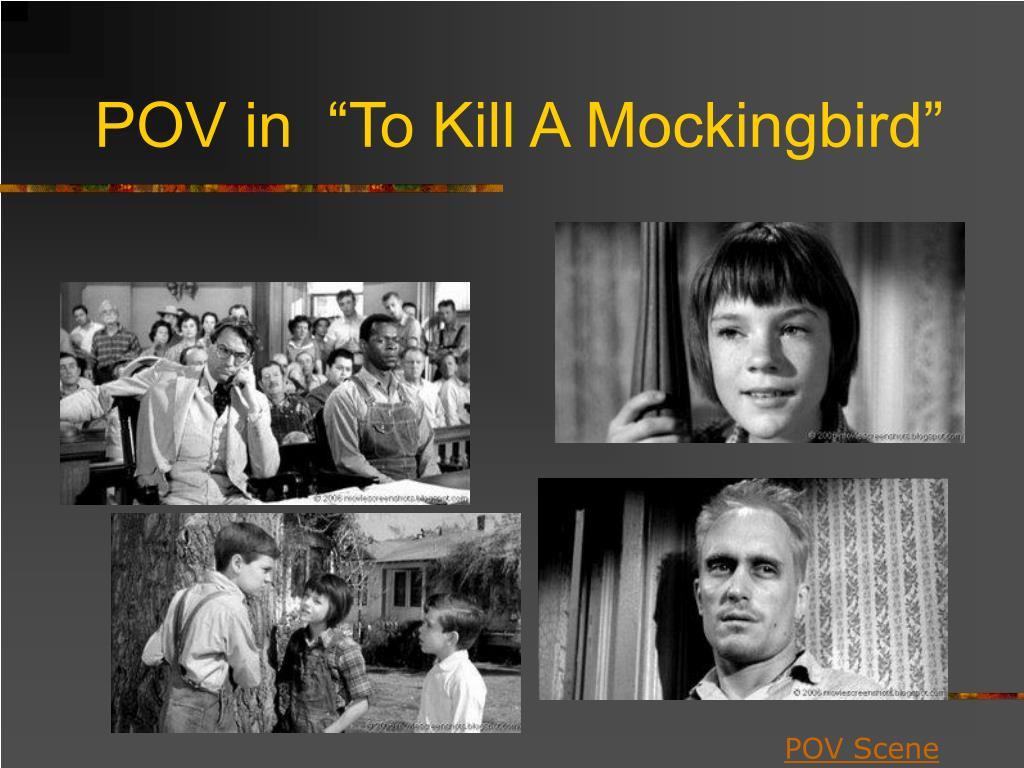 "POV in  ""To Kill A Mockingbird"""