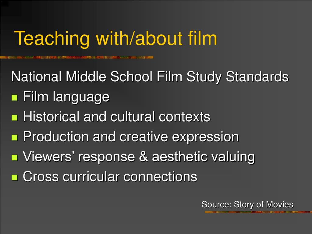 Teaching with/about film