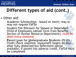 different types of aid cont12
