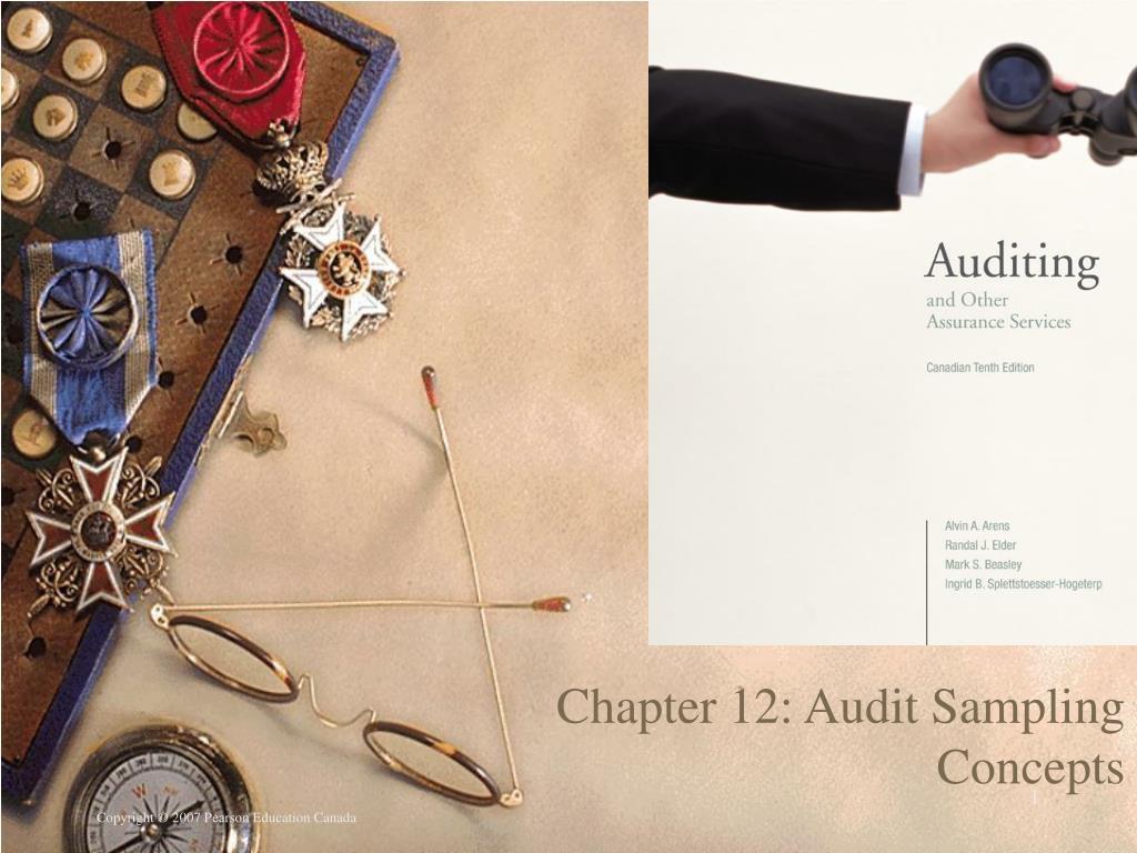 chapter 12 audit sampling concepts