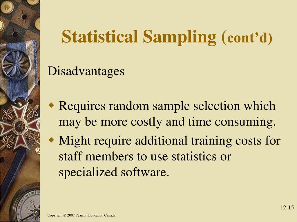 Statistical Sampling (