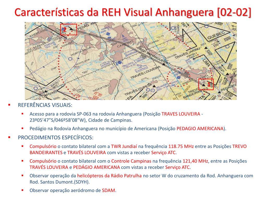 Características da REH Visual Anhanguera [02-02]