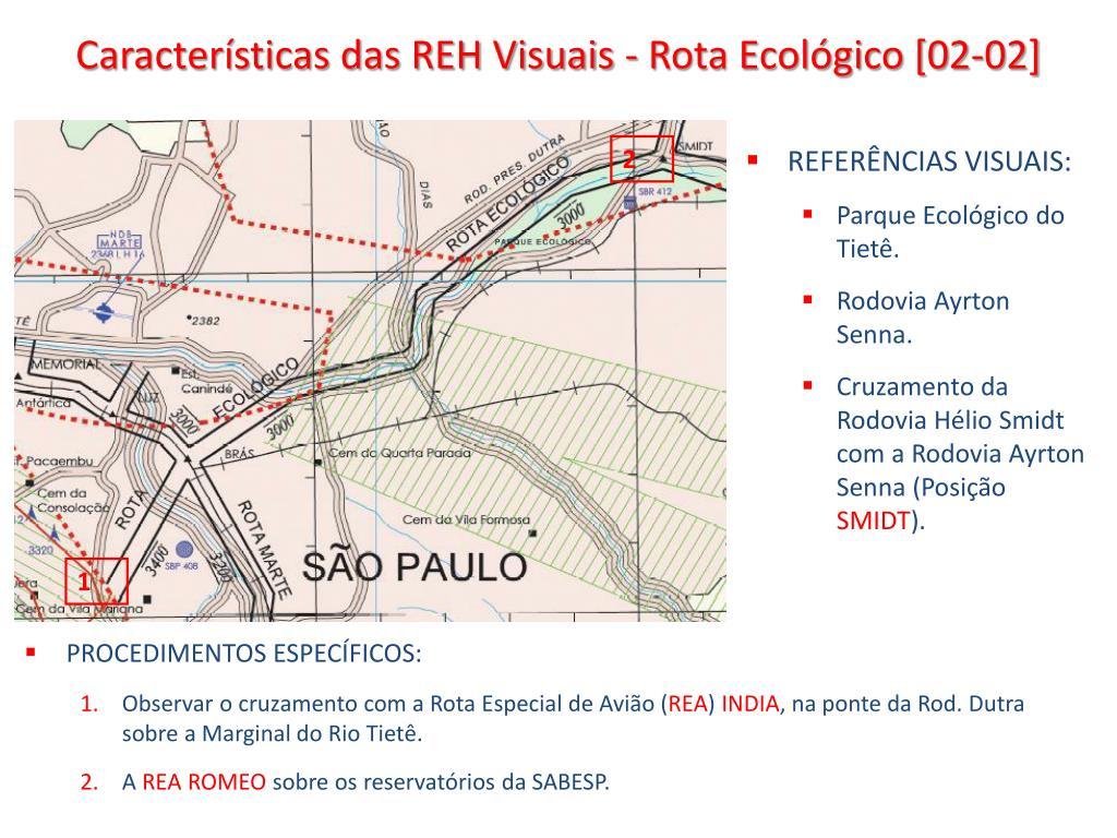 Características das REH Visuais - Rota Ecológico [02-02]