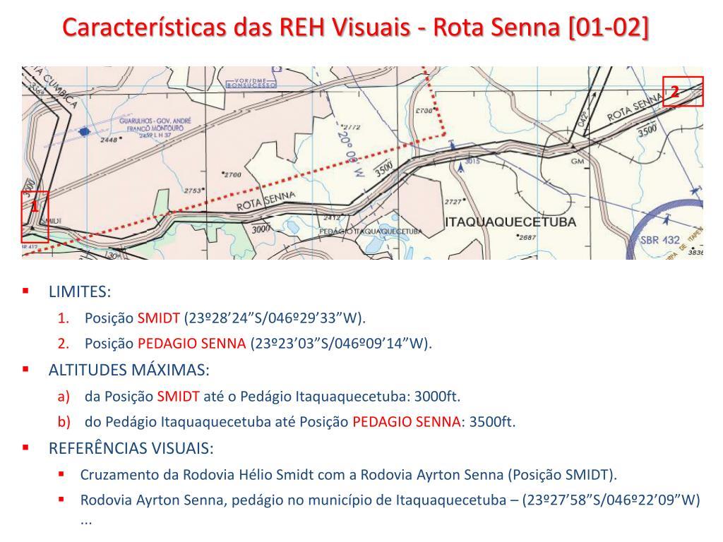 Características das REH Visuais - Rota Senna [01-02]