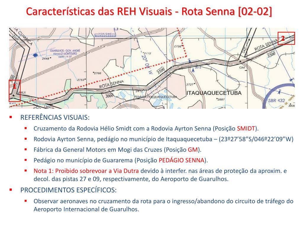 Características das REH Visuais - Rota Senna [02-02]