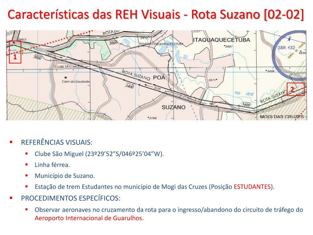 Características das REH Visuais - Rota Suzano [02-02]