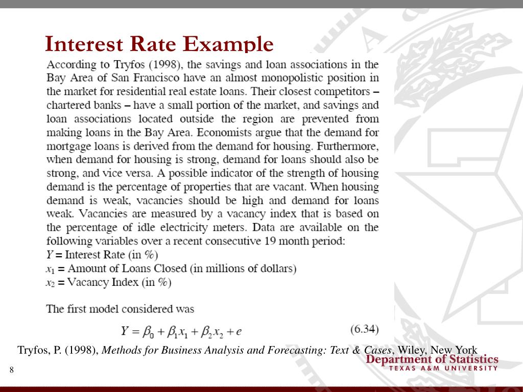 Interest Rate Example