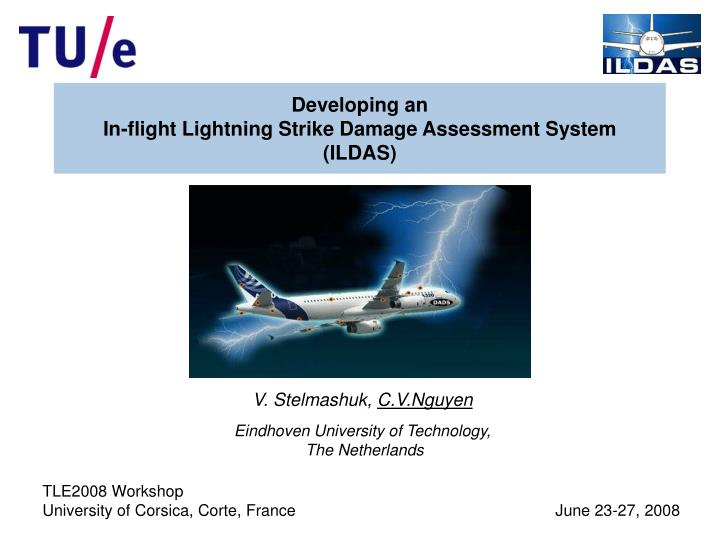 Developing an in flight lightning strike damage assessment system ildas