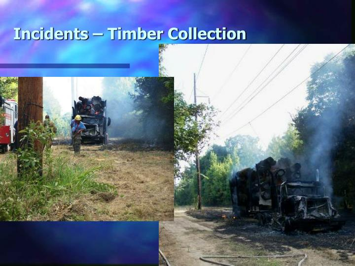 Incidents – Timber Collection