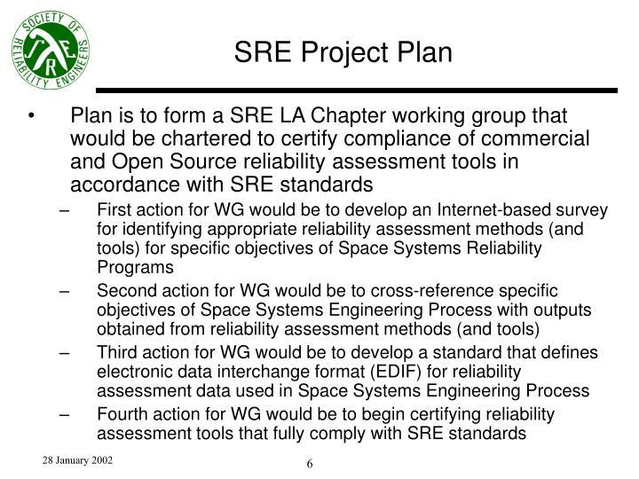SRE Project Plan