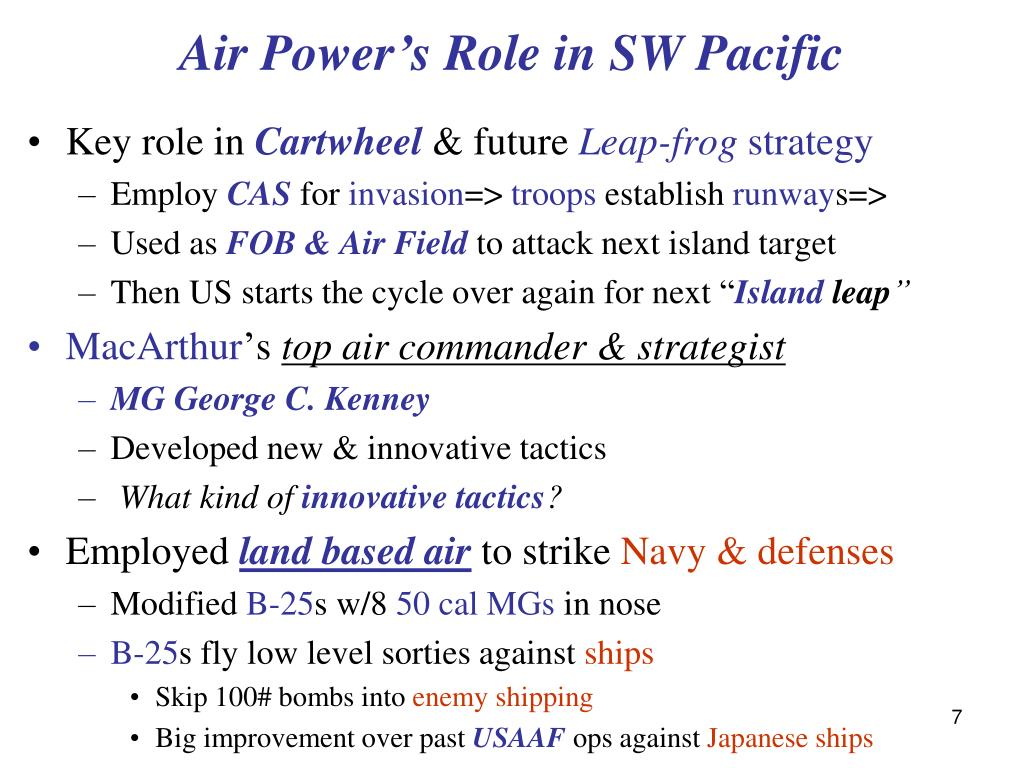 Air Power's Role
