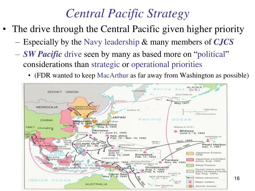 Central Pacific Strategy
