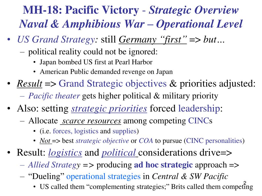 MH-18: Pacific Victory