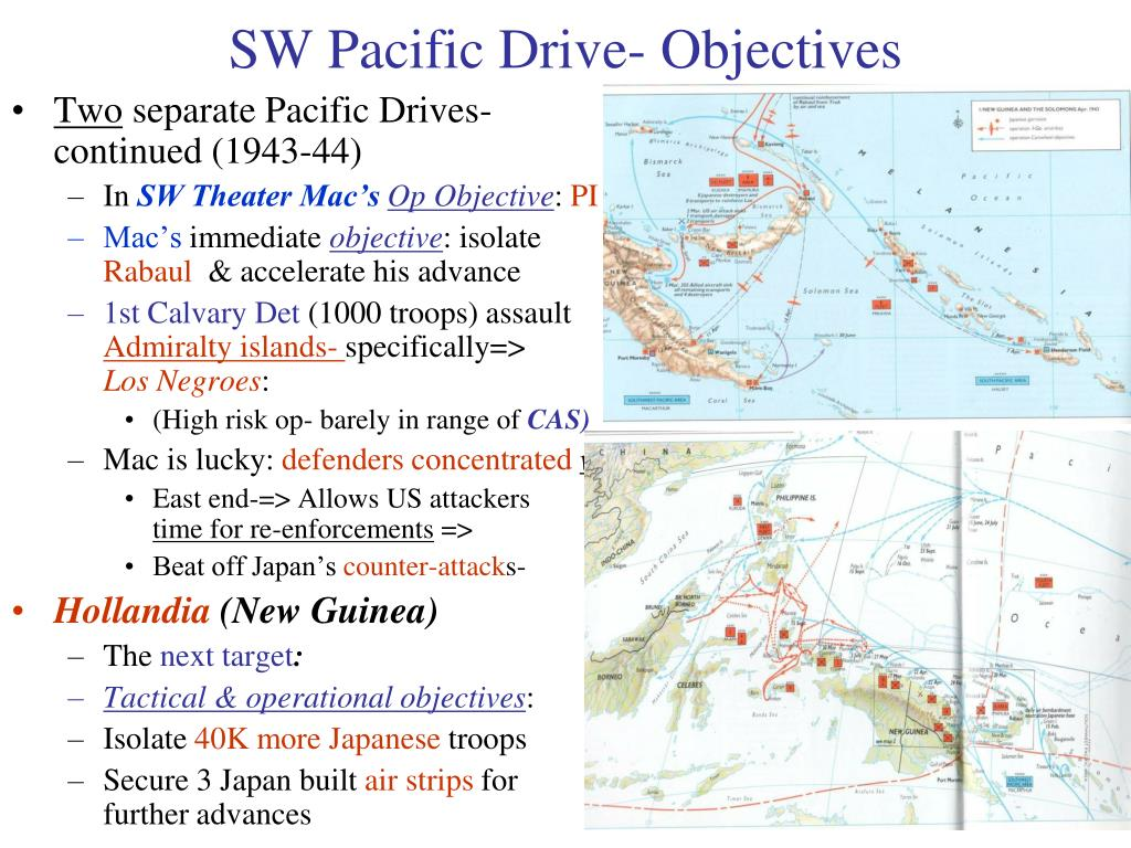 SW Pacific Drive- Objectives