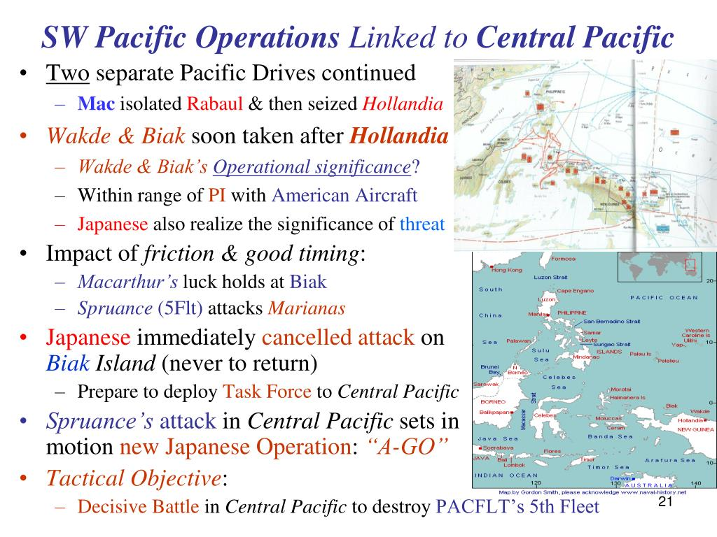 SW Pacific Operations