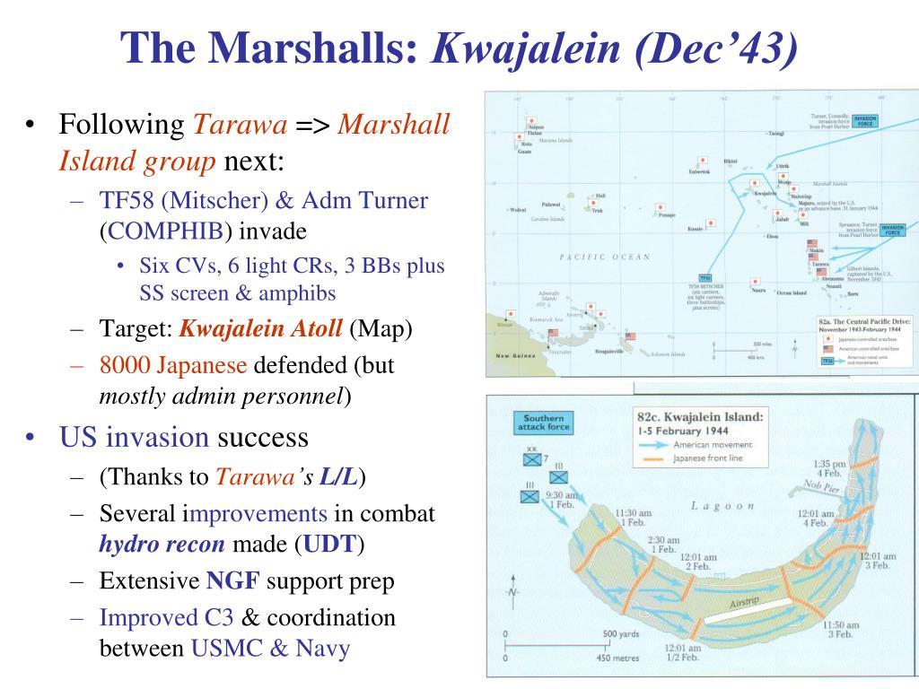 The Marshalls: