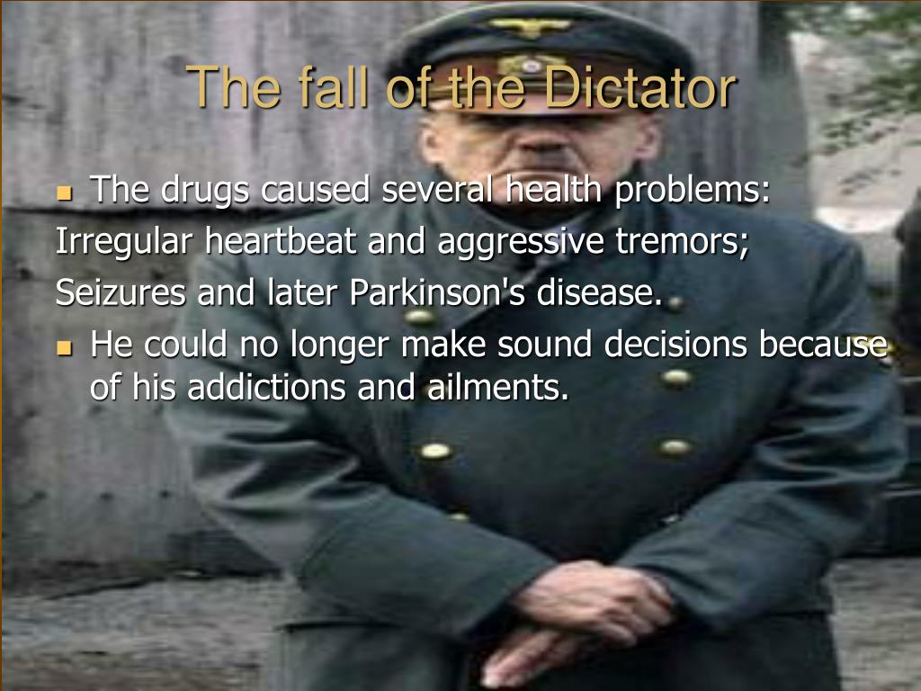 The fall of the Dictator
