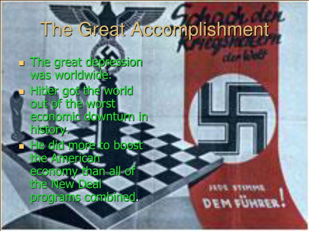 The Great Accomplishment