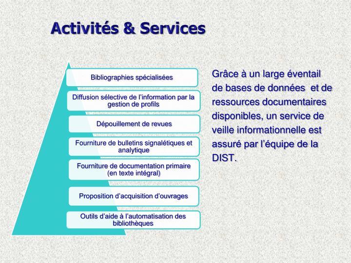 Activités & Services