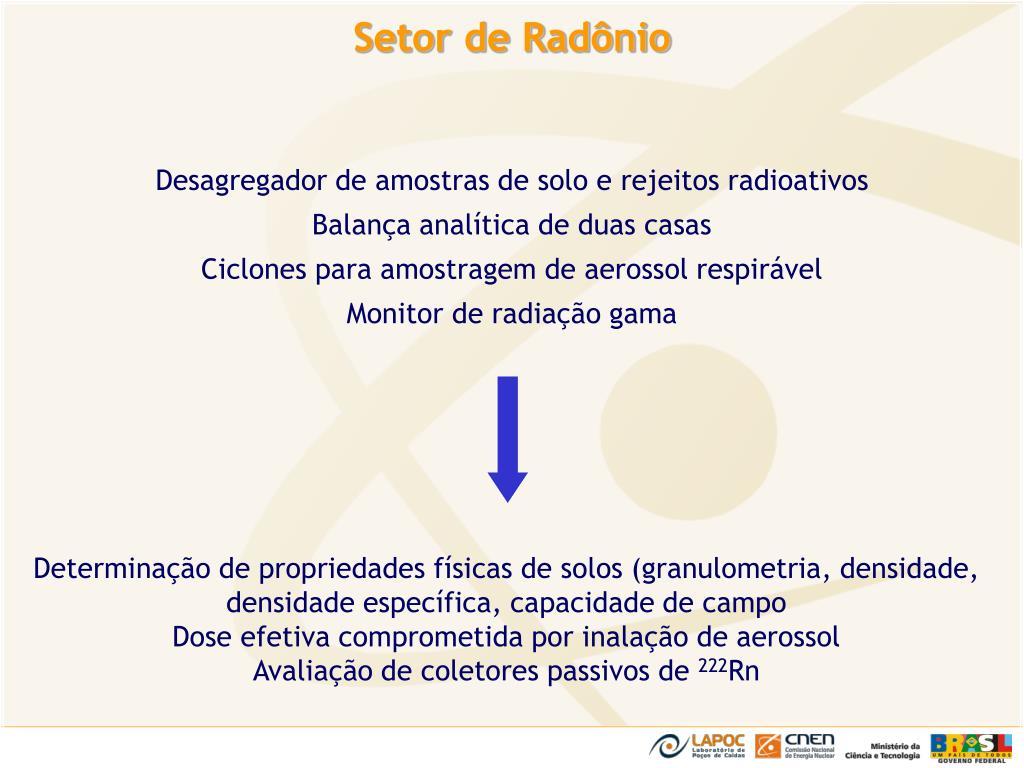 Setor de Radônio