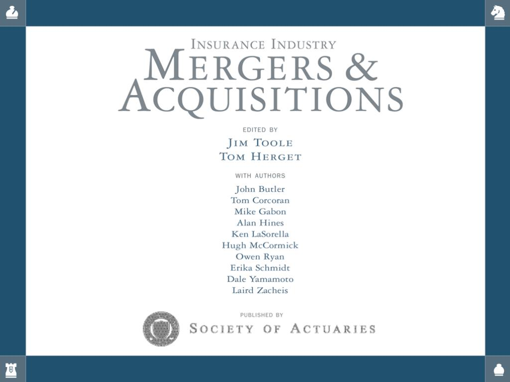 Insurance Industry Mergers & Acquisitions