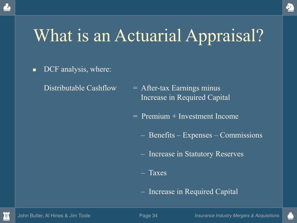 What is an Actuarial Appraisal?