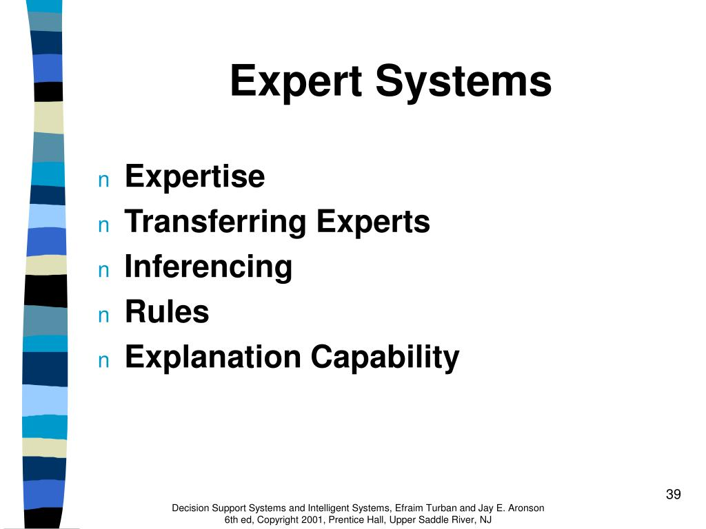 expert systems Artificial intelligence and expert systems for engineers 23 me gusta this book provides a comprehensive presentation of artificial intelligence (ai.