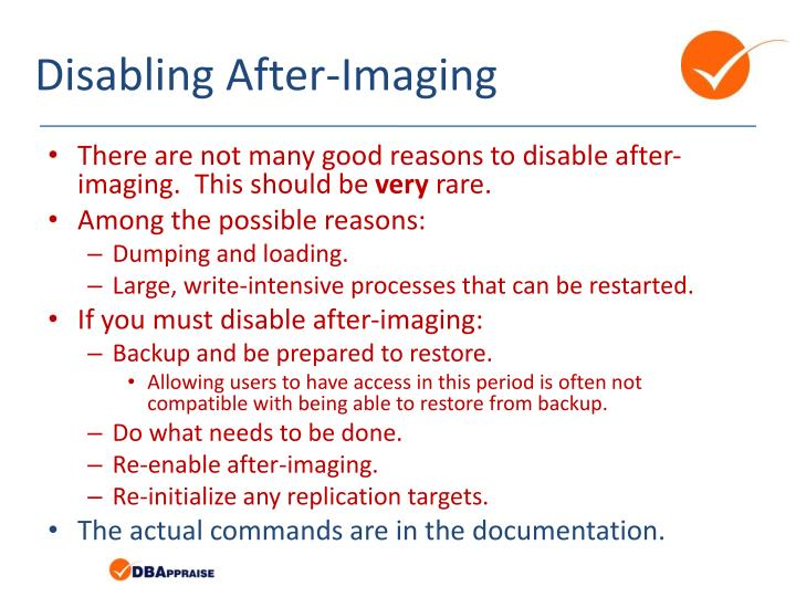 Disabling After-Imaging