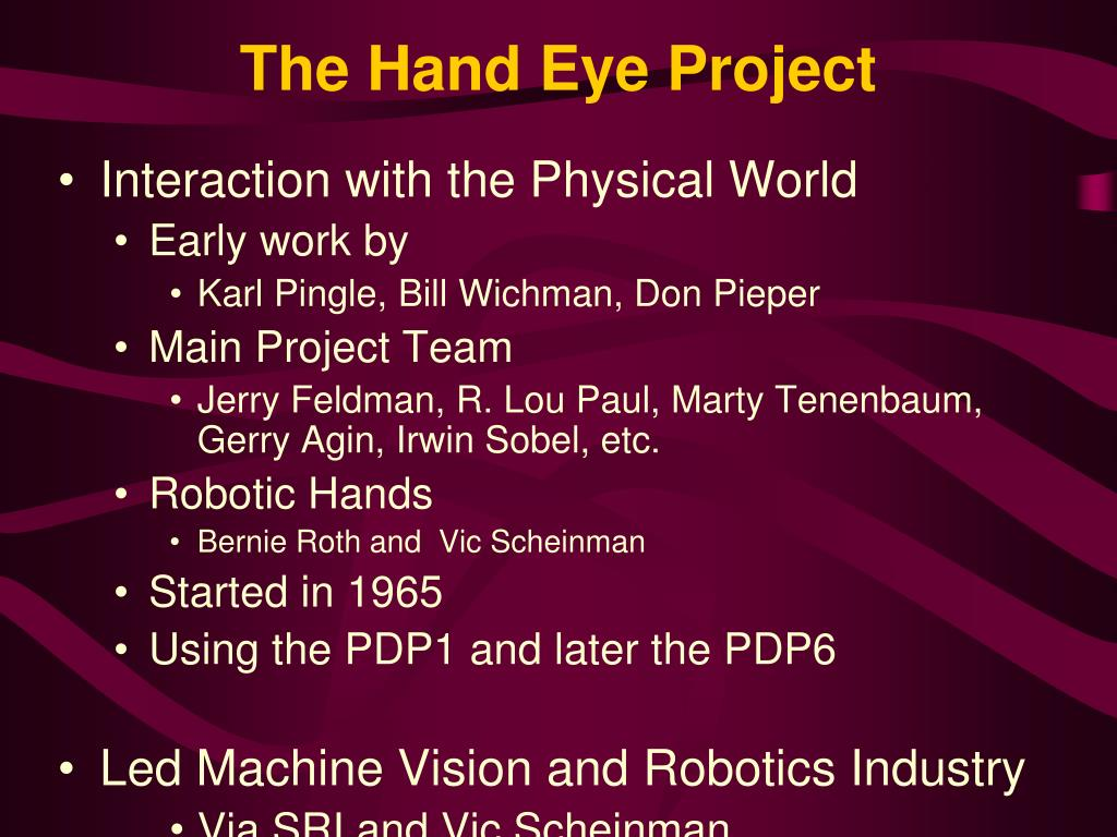 The Hand Eye Project