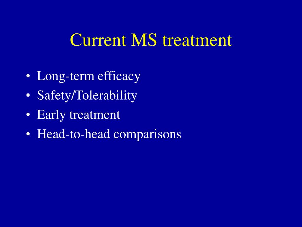 Current MS treatment