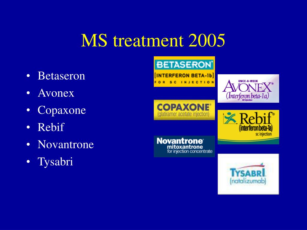 MS treatment 2005