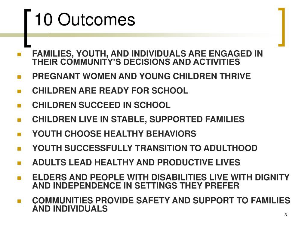 10 Outcomes